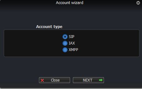 Zoiper 3 Account Type